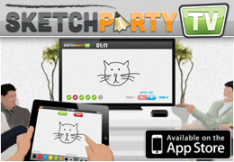 SketchParty TV for iPad + AppleTV