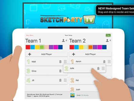 SketchParty TV screenshot